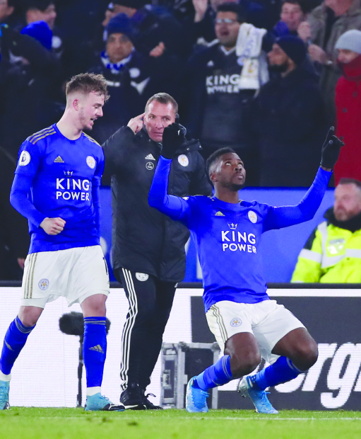 Premier League: Leicester move up with fine win
