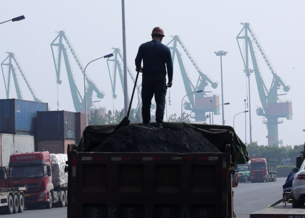 In China, coal creeps back in as slowing economy overshadows climate change ambitions