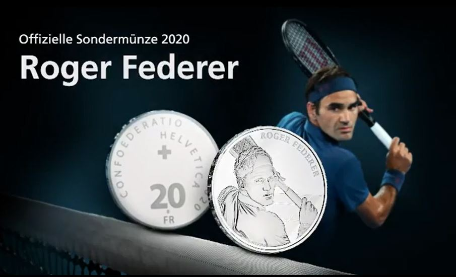 VIDEO: Federer to have Swiss coin minted in his honour