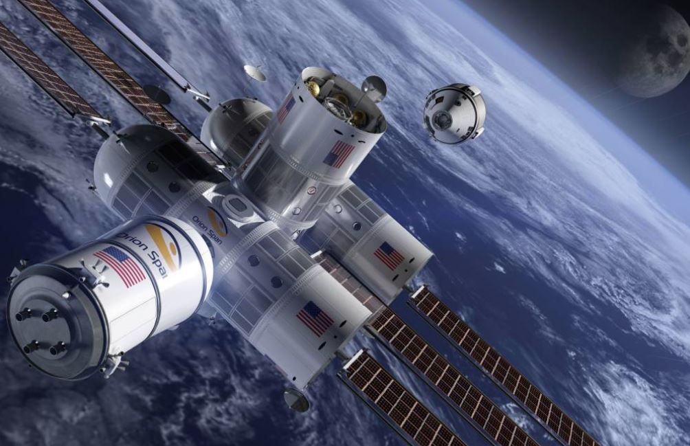 Stellar view? Space hotels race to offer tourists a room in the sky