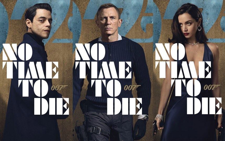New character posters from 'No Time to Die' revealed