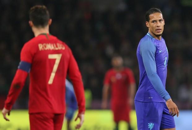 Ronaldo's sister fails to see funny side of Van Dijk jibe