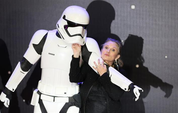 'It's bittersweet': Leia has key role as 'Star Wars' wraps Skywalker saga