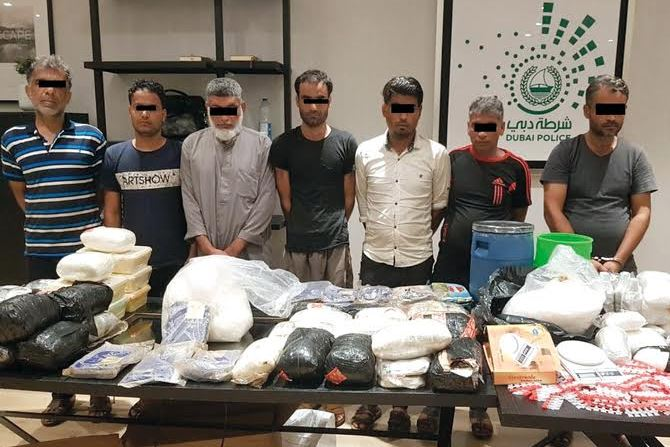194kg drugs seized as two smuggling gangs busted