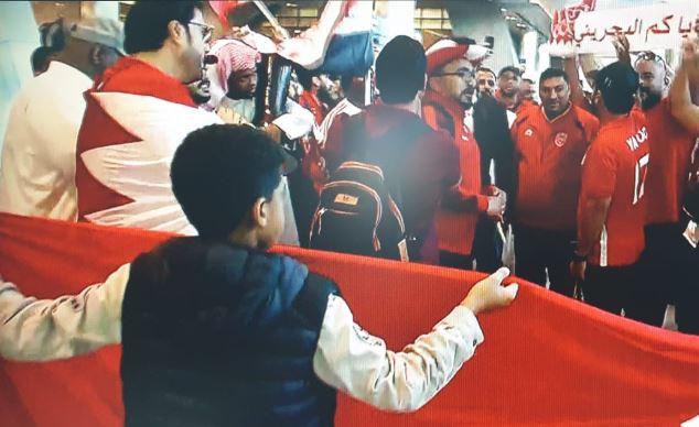 Bahraini football fans arrive in Qatar for Gulf Cup semi-finals