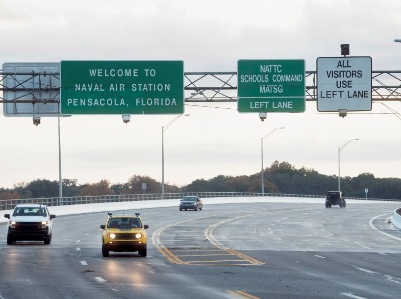 Four dead in shooting at Florida naval base