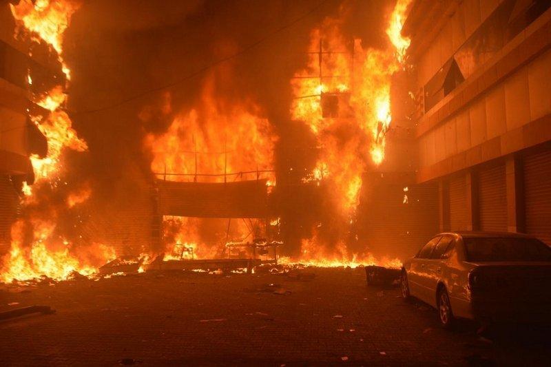 Fire breaks out in Jeddah shopping mall