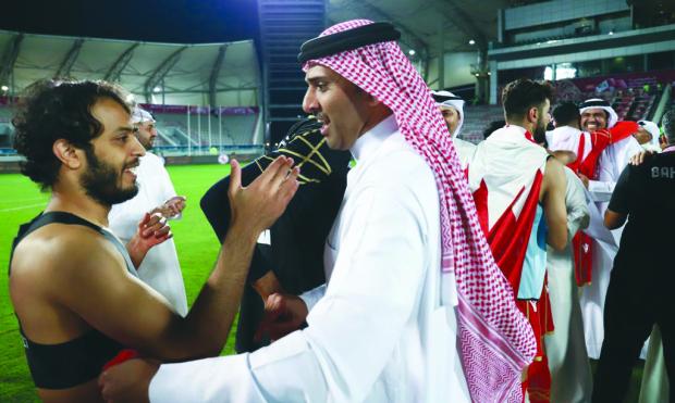 Bahrain salute soccer heroes