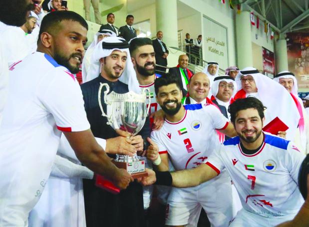 Sharjah Club pip Barbar for handball title