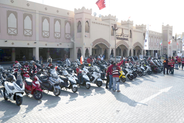 <p>Bikers were the weekend attraction at the Bahrain Mall in Manama yesterday, as the Bahrain Bike Week comes to a close today. The 10th edition of the annual event started on Thursday as part of festivities marking Bahrain's National Day and His Majesty King Hamad's Accession to the Throne. The three-day festival, launched in 2010, was held under the patronage of Capital Governor Shaikh Hisham bin Abdulrahman Al Khalifa.</p>