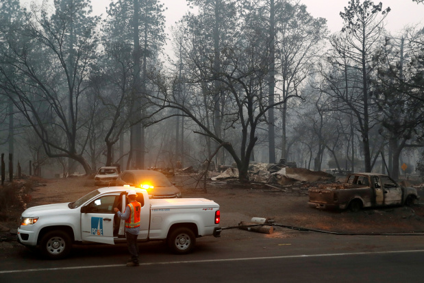 Bankrupt PG&E reaches $13.5bn settlement with California wildfire victims