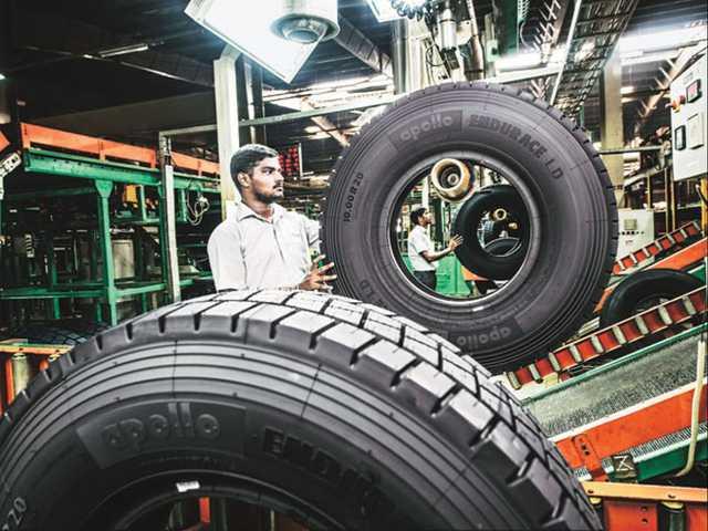 India's Apollo Tyres enters Saudi market