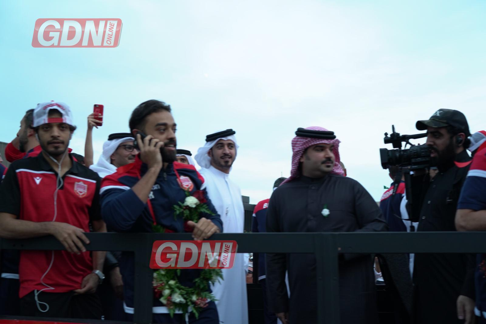 IN PICTURES & VIDEOS: Gulf Cup champions receive heroes' welcome