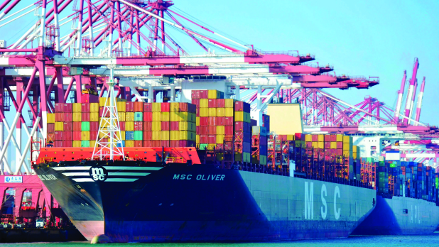 Chinese exports fall in November