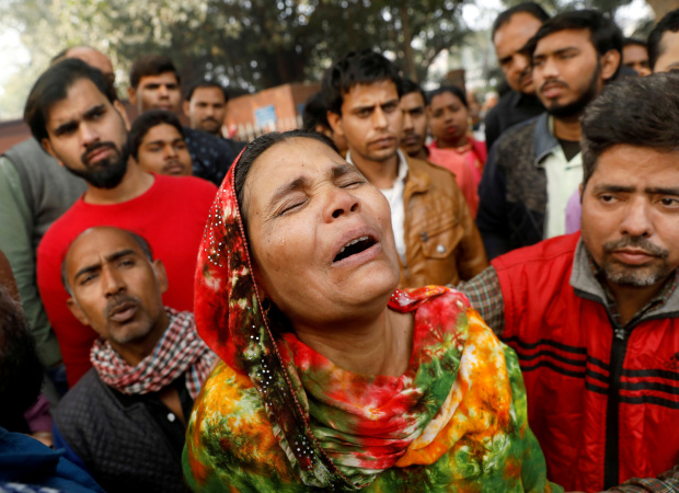 Factory owner, manager nabbed after Indian capital's deadliest fire in 20 yrs