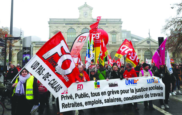 France willing to delay pension reform timing
