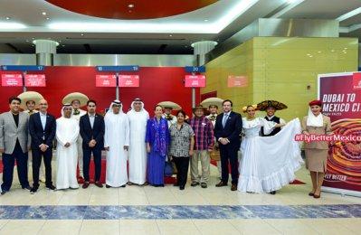 Emirates takes off to Mexico City