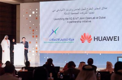 TRA, Huawei launch 5G & IoT OpenLab in UAE