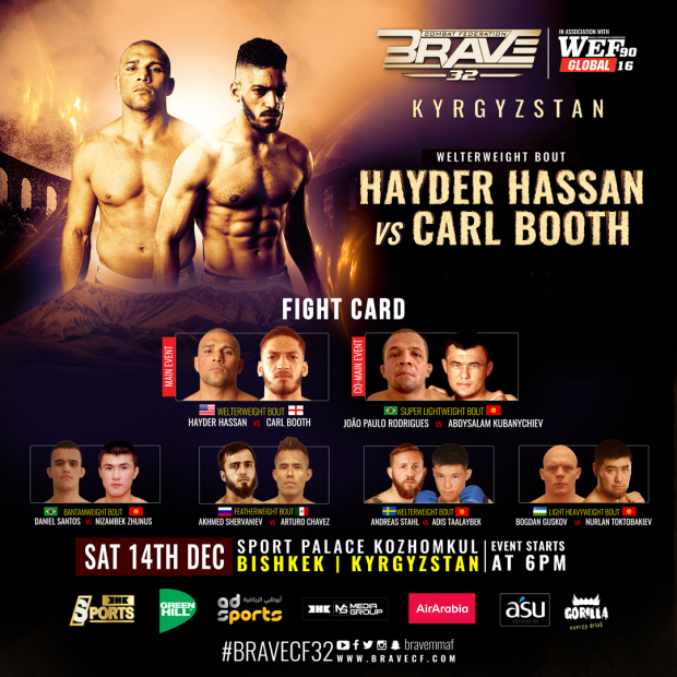 Hassan gears up for Booth fight