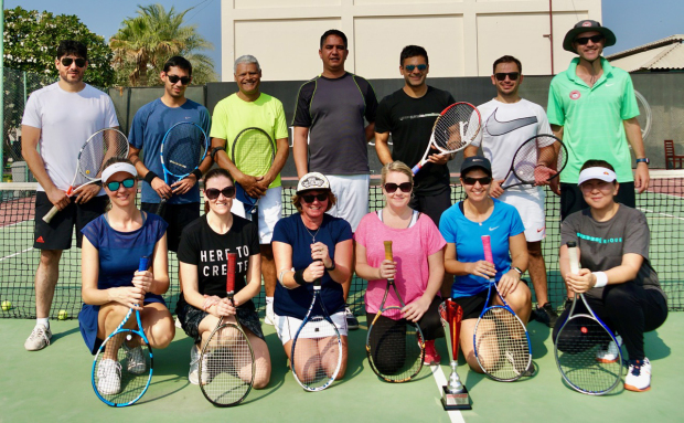 Jon and Julie clinch mixed doubles title