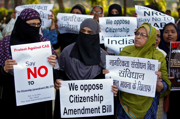 Protests erupt as India pushes for religion-based citizenship bill