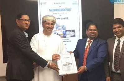 Nuberg EPC wins deal for new calcium chloride plant in Oman