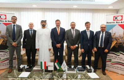 UAE, Italian firms team for oil projects