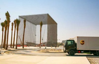 UPS completes major multi-modal deliveries for Expo 2020