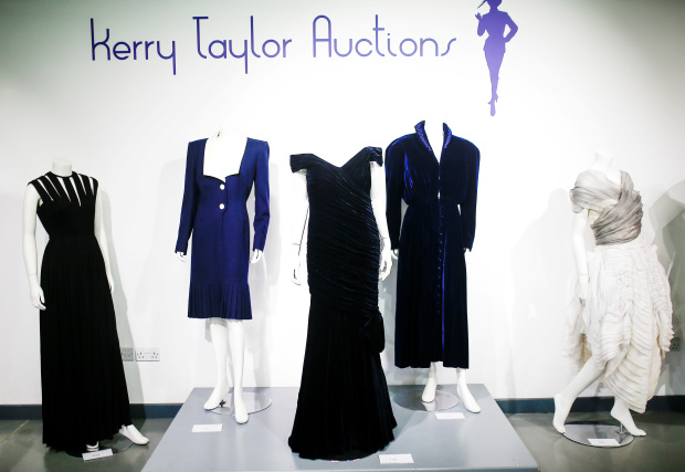 Dress Diana wore for Travolta dance sells for more than $280,000