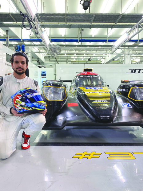 Shaikh Isa to test drive Jota prototype car