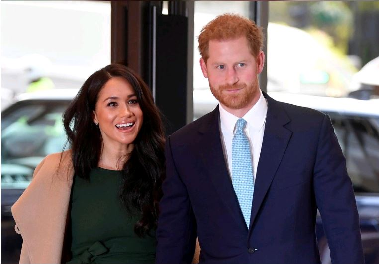 Britain's Harry and Meghan file for Sussex Royal trade mark