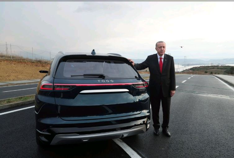 Turkey unveils first fully homemade car in $3.7 billion bet on electric