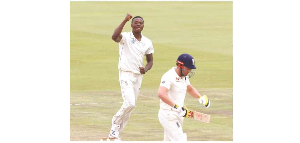 South Africa claim first Test in style