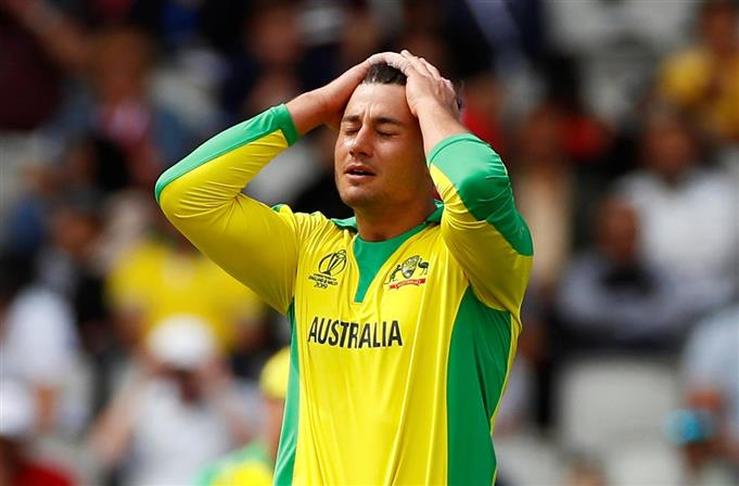 Australia batsman Marcus Stoinis fined for personal abuse