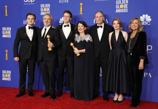 PHOTOS: '1917' upsets Hollywood awards season, Phoenix wins best actor at Golden Globes