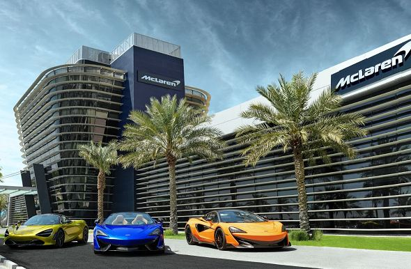 New Bahrain tower a milestone for McLaren