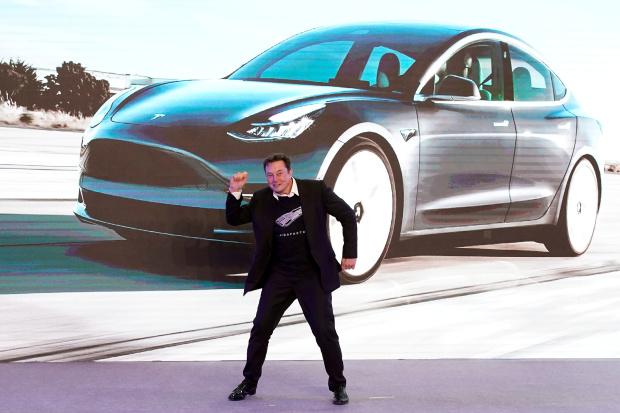 Musk nears $346 million payday as Tesla market value soars