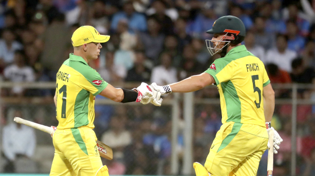 Australia ease to victory in opener