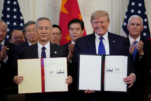 Concerns linger after US and China sign initial trade deal