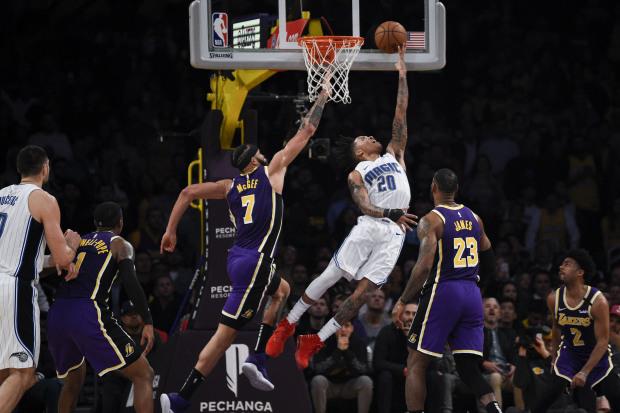 NBA roundup: Magic halt Lakers' 9-game win streak
