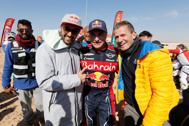 Bahrain JCW X-Raid Team's Sainz wins Dakar Rally title