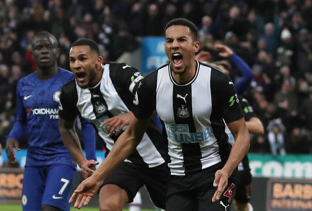 EPL: Last-gasp Isaac Hayden header earns Newcastle United dramatic win over Chelsea