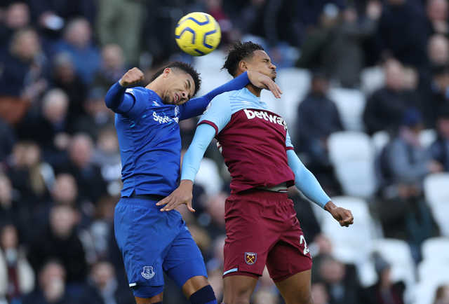 EPL: West Ham United held at home by Everton