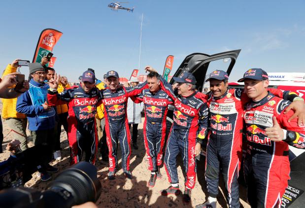 Bahrain X-Raid win Dakar Rally