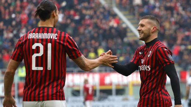Serie A: Ante Rebic on target as AC Milan snatch thrilling win
