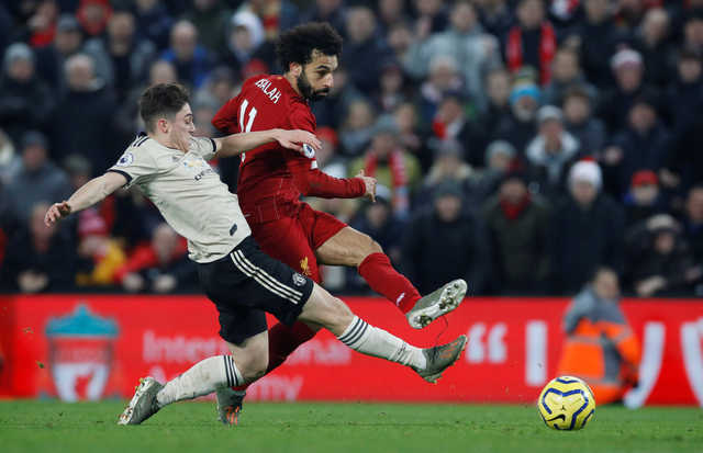 EPL: Liverpool go 16 points clear with 2-0 win over Manchester United
