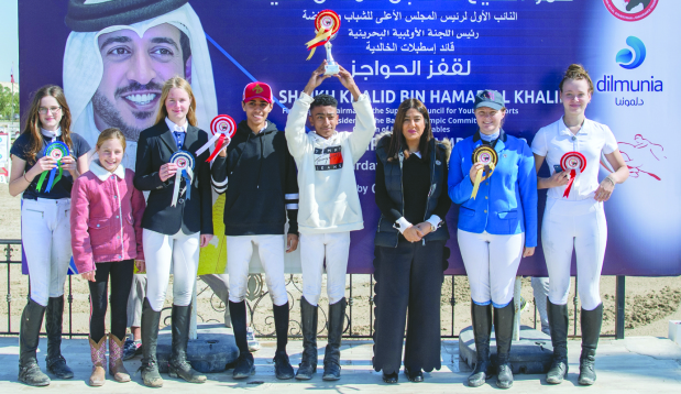 Ali and Sultan win showjumping titles
