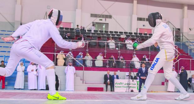 Shaikh Khalid hails fencing World Cup success