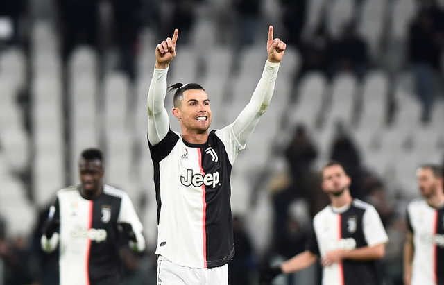 Serie A: Cristiano Ronaldo double fires Juventus four points clear with Parma win