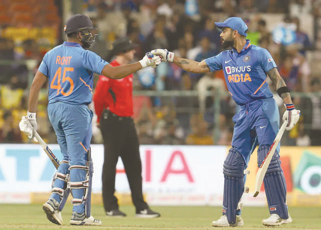 Indians claim ODI series against Aussies in style
